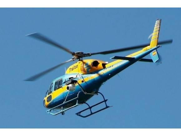 Drones y helicópteros en funcionamiento: La DGT nos multa desde el aire