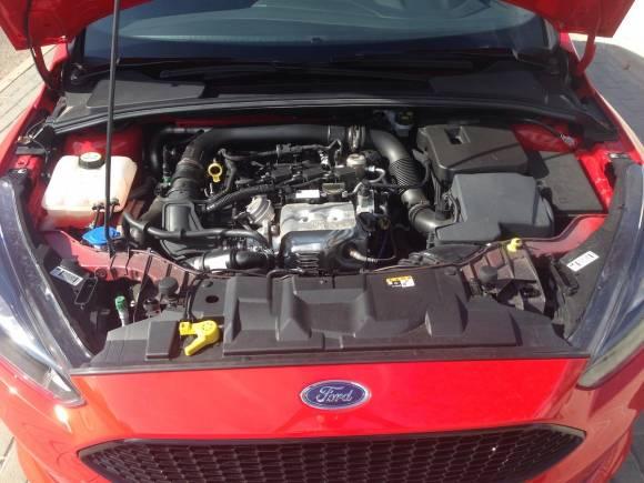 Prueba Ford Focus Ecoboost 125, ¿Por qué bastan tres cilindros?