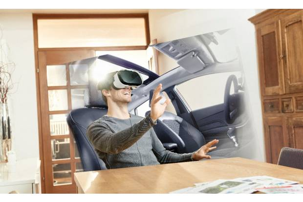 Ford permite probar sus modelos con realidad virtual