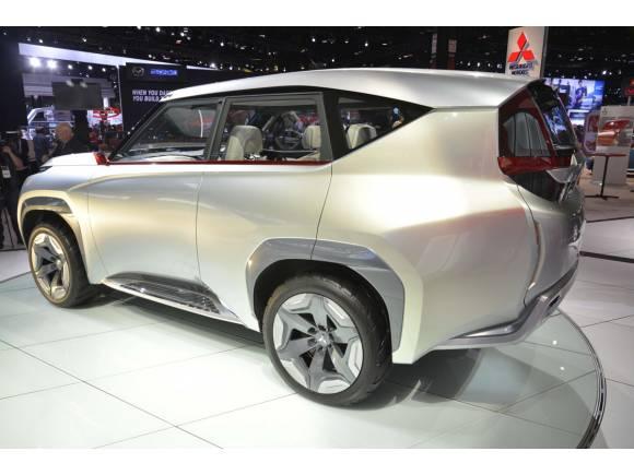 Mitsubishi presenta el Concept GC-PHEV en el Salón de Chicago