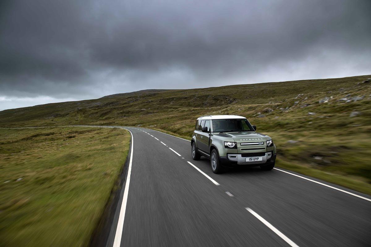 Land Rover Defender hidrogeno