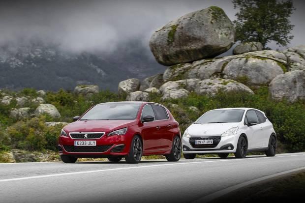 Vídeo: prueba Peugeot 208 GTI y Peugeot 308 GTI