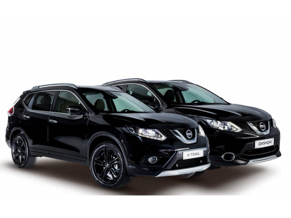 Nissan presenta las ediciones limitadas Qashqai y X-Trail Black Edition