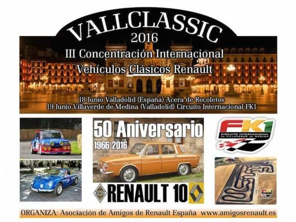 VallClassic: Festival de vehículos clásicos Renault en Valladolid