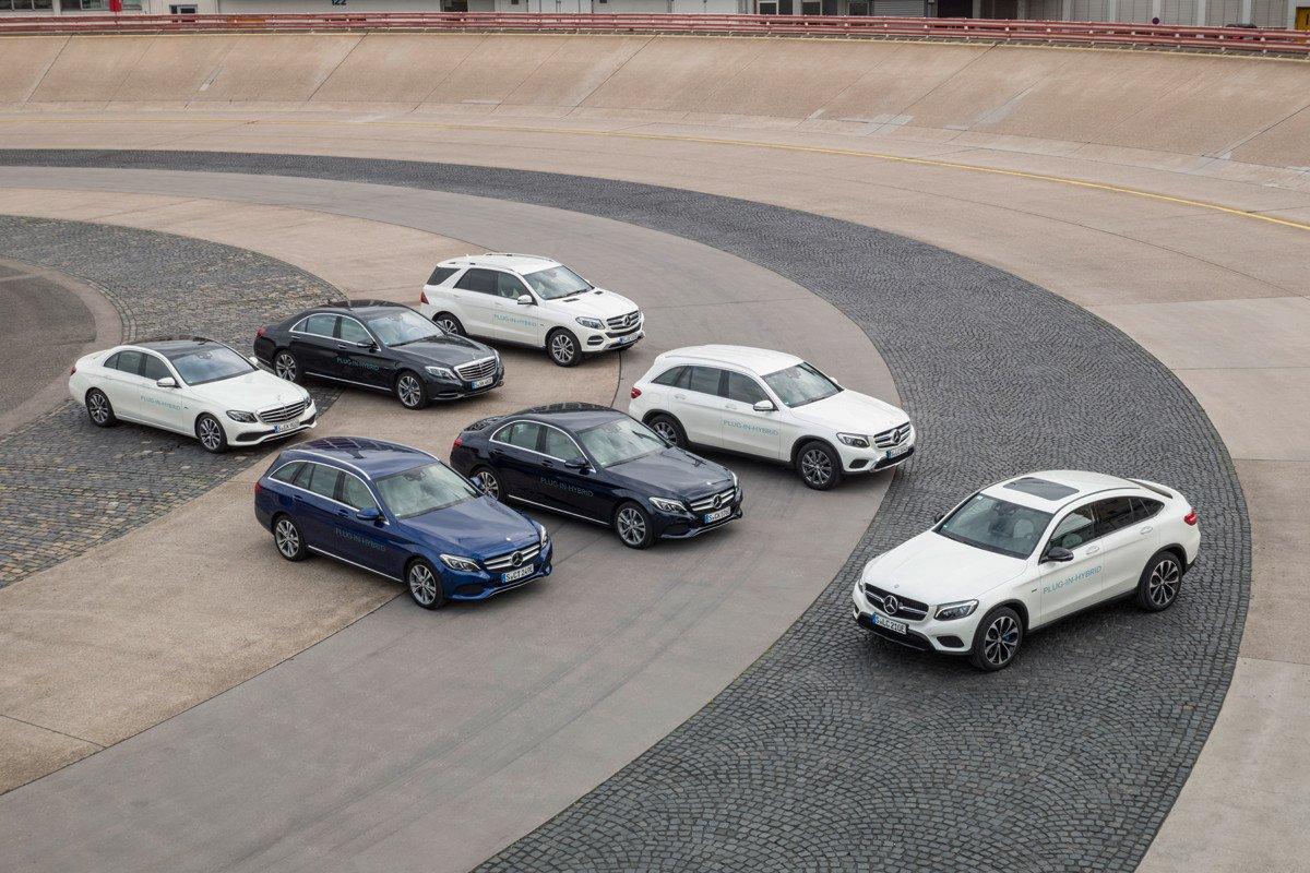 Mercedes híbridos enchufables