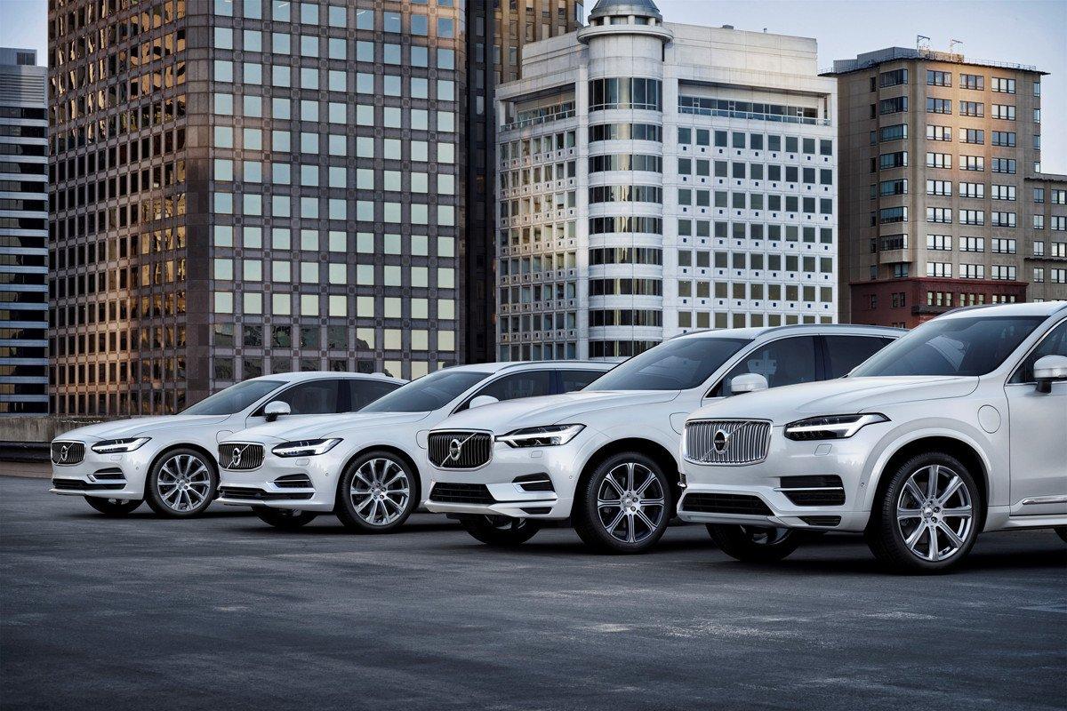 Volvo híbridos enchufables