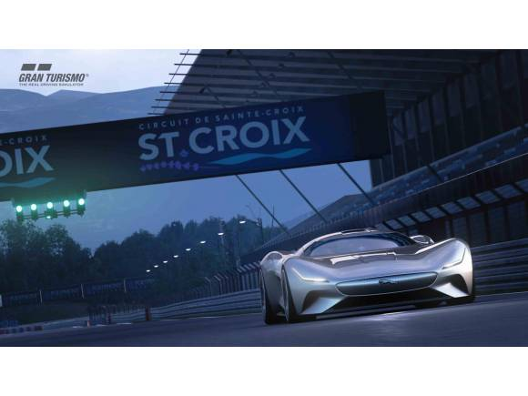 Jaguar Vision GT Coupé: un superdeportivo eléctrico para Gran Turismo Sport