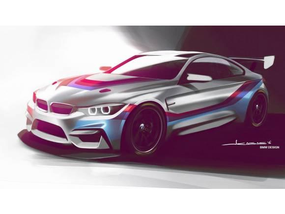 Primera imagen del BMW M4 GT4 que llegará en 2018
