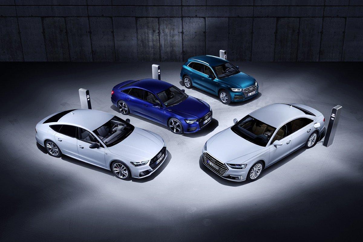 Audi híbridos