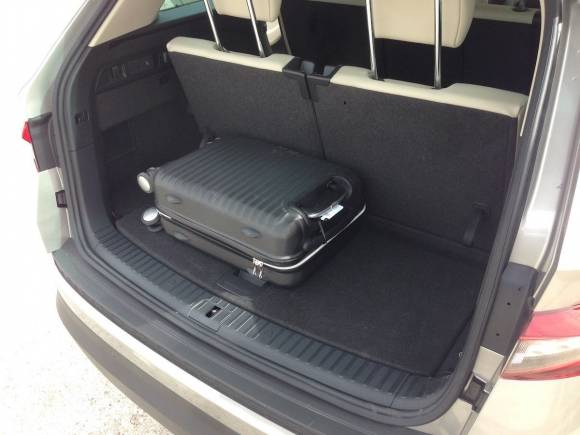 Skoda Kodiaq de siete plazas, ¿Queda hueco para el maletero?