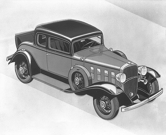 Chevrolet Deluxe Sport Coupe (1932)