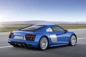 Nuevo Audi R8 2015: más ligero, más potente, más rápido... y también eléctrico