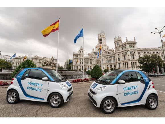 Car2go vs Emov, car sharing en Madrid