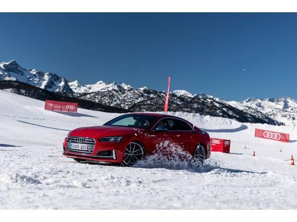 Comienza la nueva temporada de los cursos Audi Winter driving experience 2020