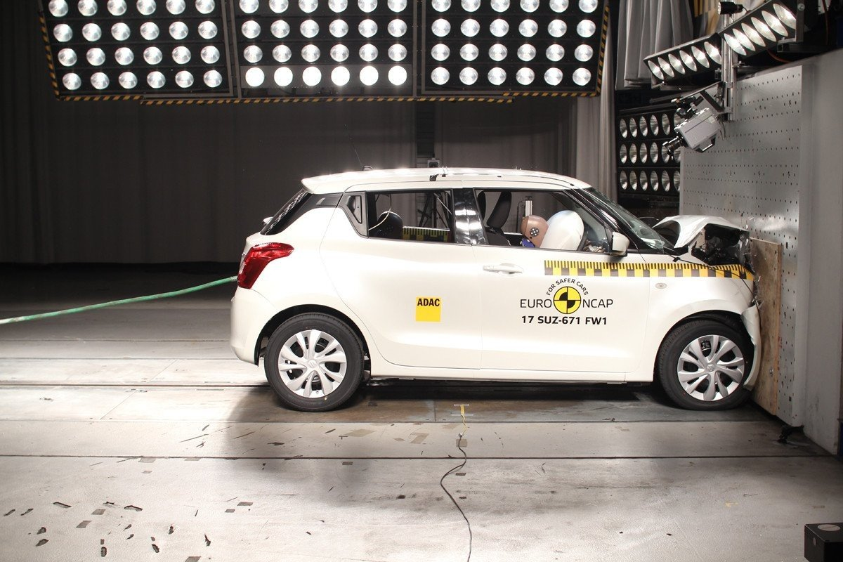 Suzuki Swift EuroNCAP