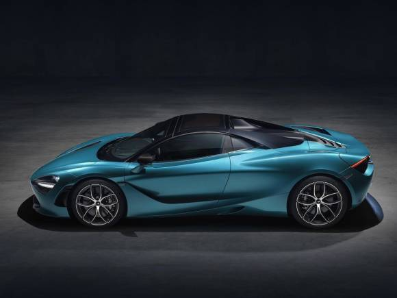 Nuevo McLaren 720S Spider, 325 km/h sin techo
