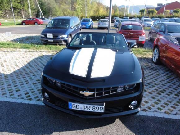 Prueba: Chevrolet Camaro, probamos el mito americano en el Centenario de Chevrolet