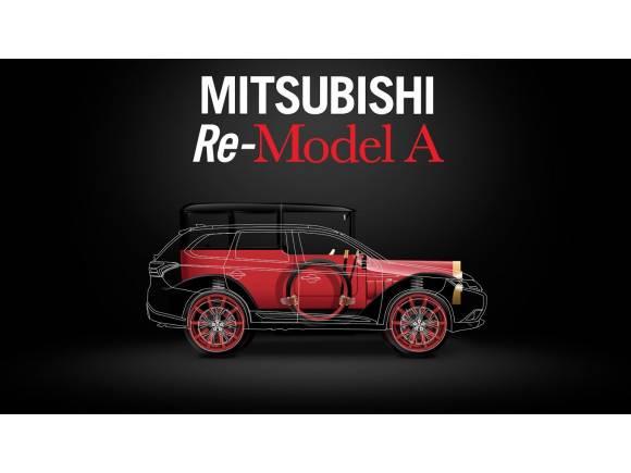 Mitsubishi celebra su centenario con el Re-Model A híbrido enchufable