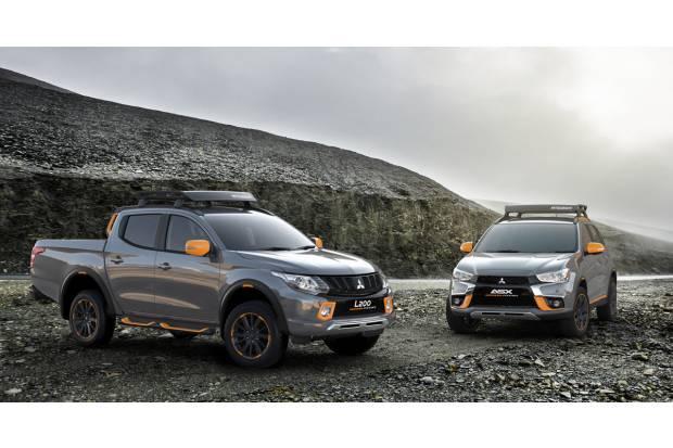 Geoseek: los prototipos de Mitsubishi para el campo