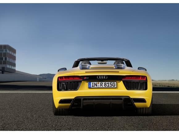 Audi R8 Spyder V10: el R8 se destapa en el Salón de Nueva York
