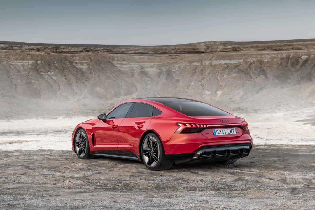 Prueba Audi e-tron GT