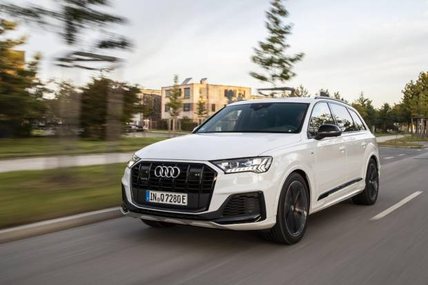 Audi Q7 TFSIe quattro: potente, eficiente... y enchufable