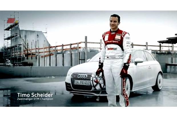 Vídeo: Gymkhana Audi A1 quattro