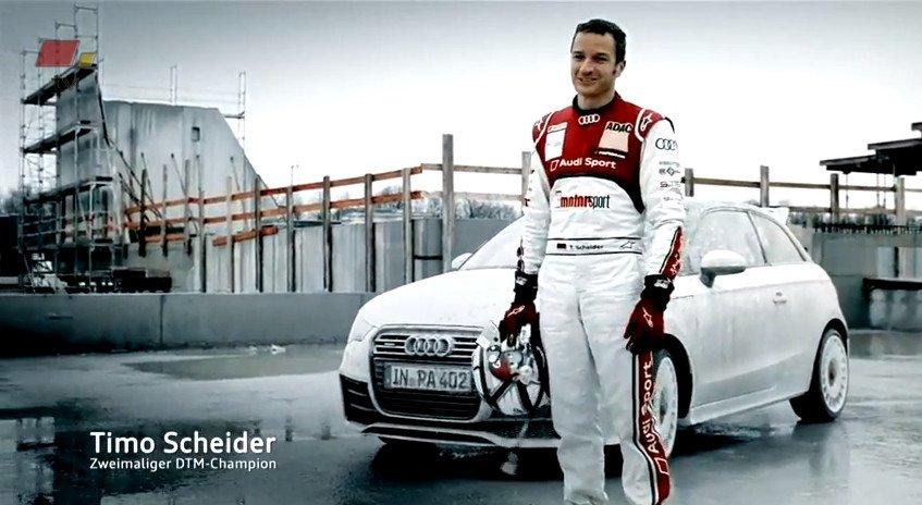 Audi A1 quattro Timo Scheider