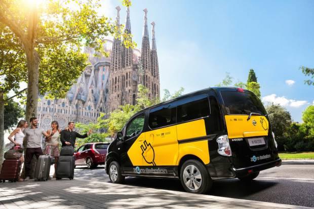 Los taxis eléctricos de Nissan ya llevan más 367.000 km de cero emisiones en España