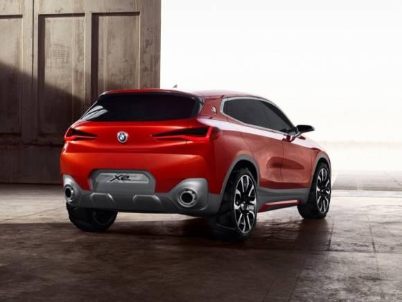 BMW X2 Concept: anticipo del futuro rival del Audi Q2