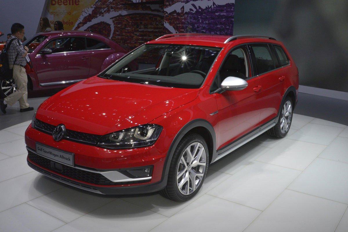 Volkswagen Golf SportWagen Alltrack 4MOTION