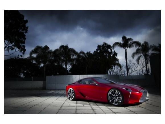 Lexus LF-LC sports coupe: el deportivo híbrido de Lexus, en Detroit