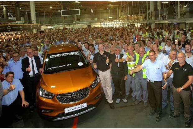 La fábrica de Opel de Zaragoza pierde el exitoso Mokka X