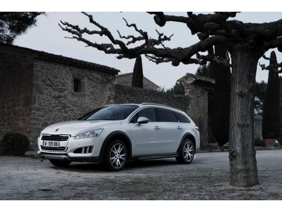 Peugeot 508 RXH: Prueba, fotos y video