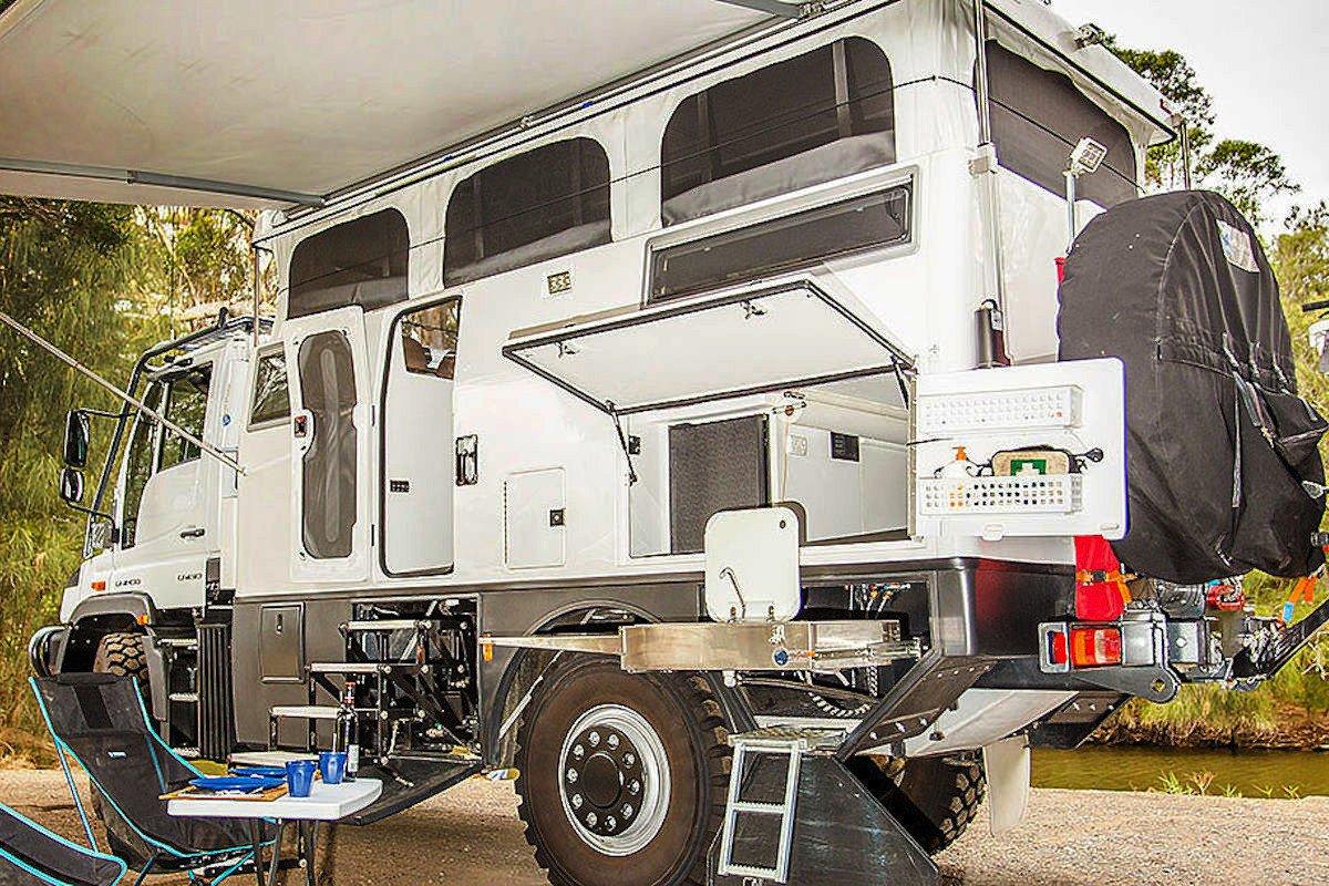Camion Casa 4x4 Unimog Para Grandes Expediciones