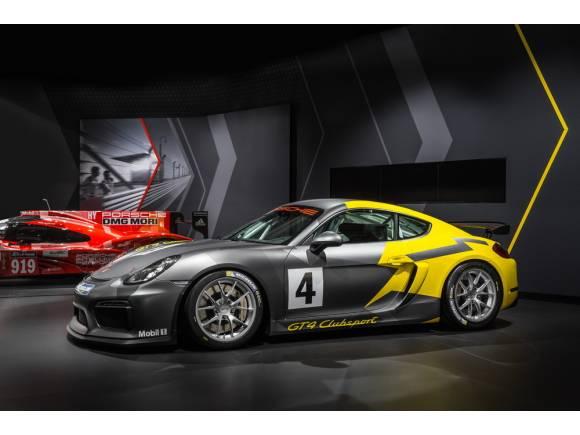 Porsche Cayman GT4 Clubsport: sólo para circuitos