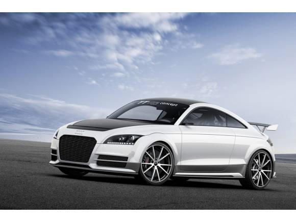 Audi TT ultra quattro concept: el deportivo ultraligero