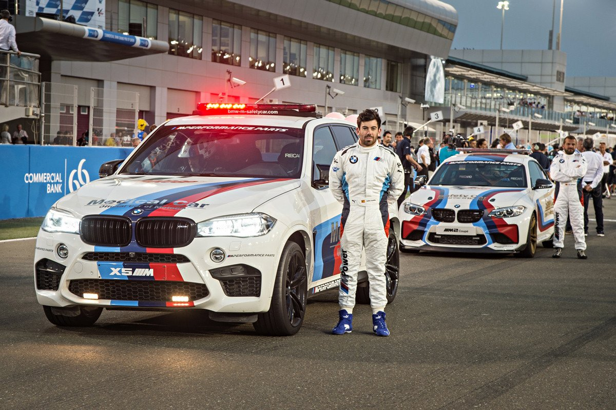 BMW Safety car