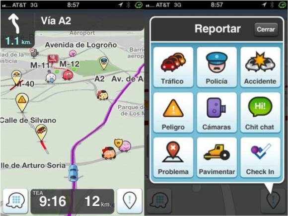 Cinco aplicaciones móviles para evitar atascos