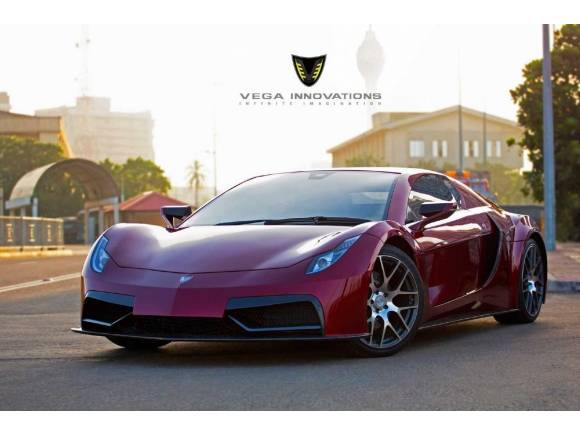 Vega EVX: un superdeportivo eléctrico made in Sri Lanka