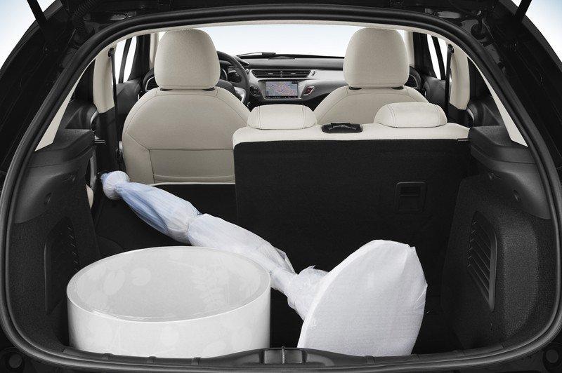 El maletero se puede configurar para aprovechar mejor el espacio