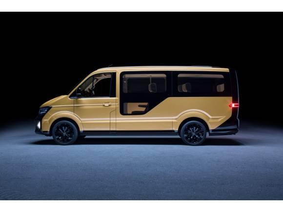 El Grupo Volkswagen presenta su primer vehículo de transporte compartido