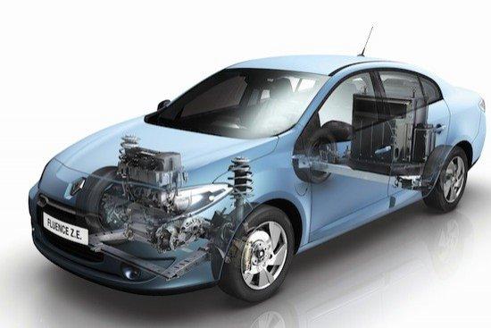 El motor es más ligero que uno térmico. Las baterías van colocadas detrás del asiento trasero.