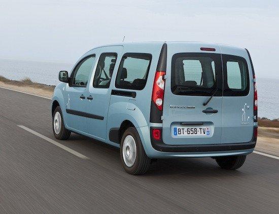 El Renault Kangoo Z.E. tiene sentido como coche de reparto de flotas o negocios locales.