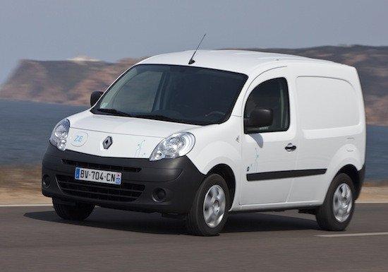 El Renault Kangoo Z.E. tiene un motor eléctrico de 60 CV y una autonomía homologada de 170 km.