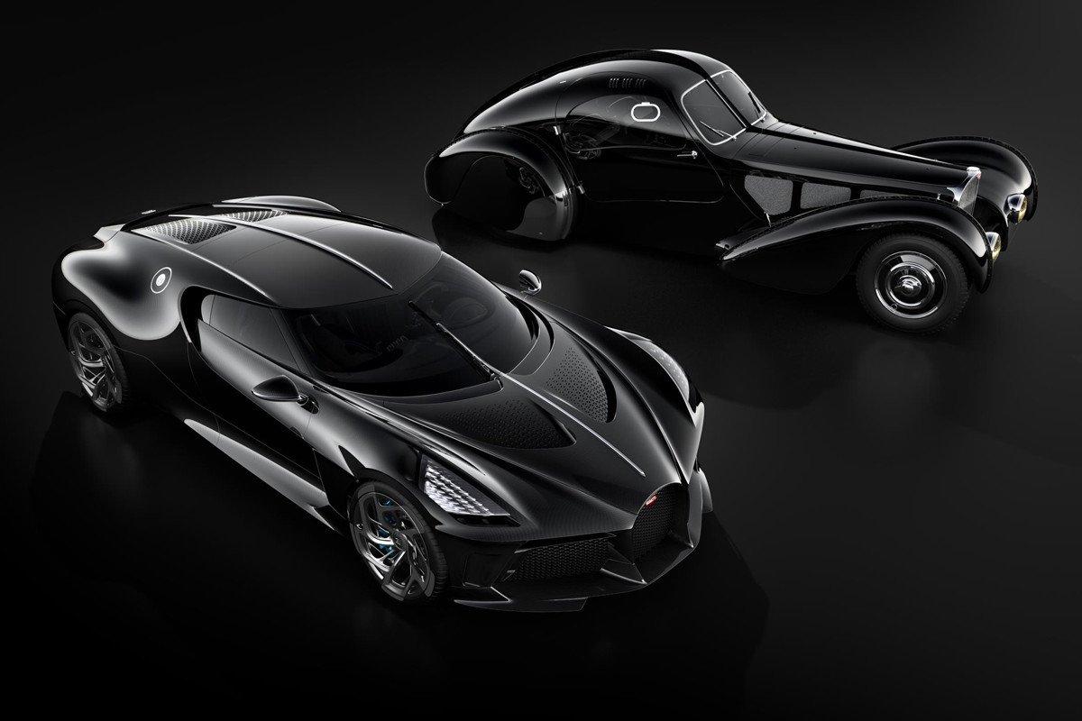 Bugatti La Voiture Noire Type 57 SC Atlantic