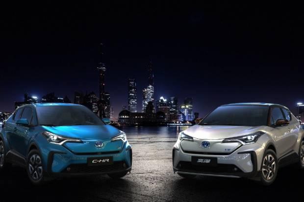 Toyota lanza en China tres coches eléctricos de una tacada