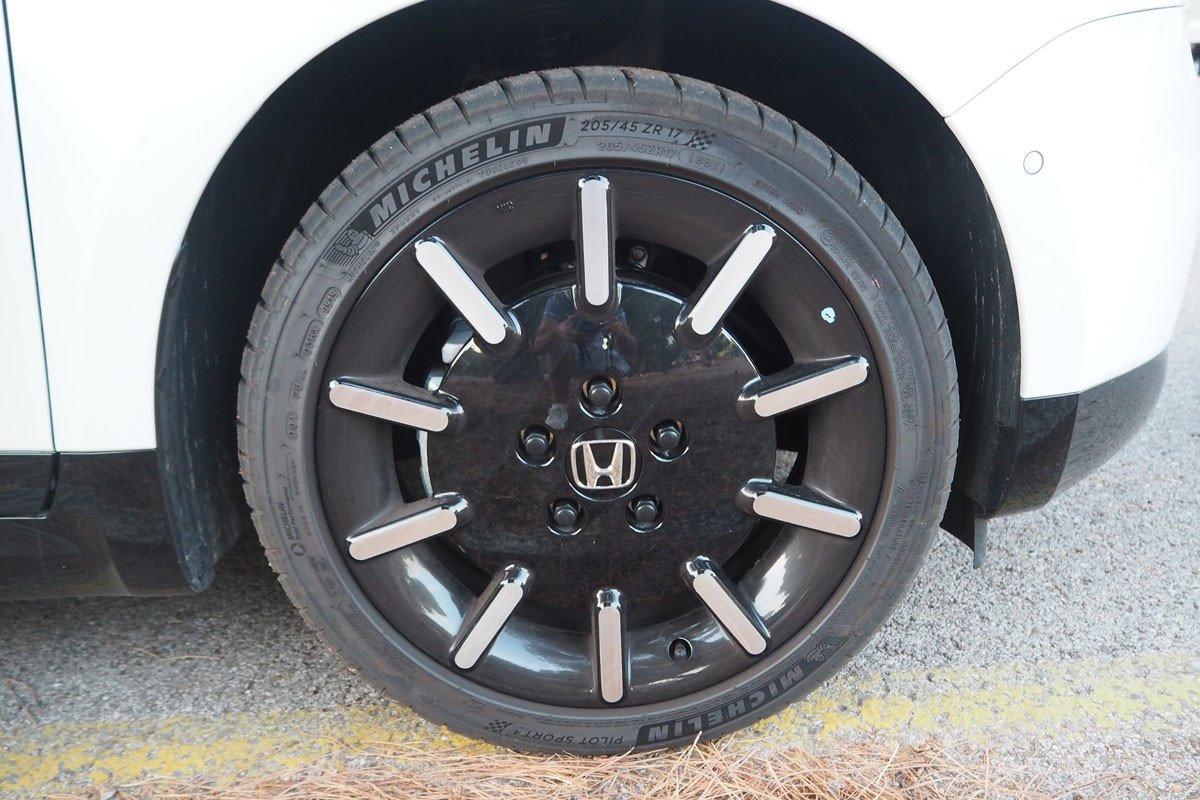 Prueba del Honda e