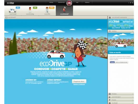Fiat organiza un concurso de conducción ecológica