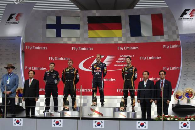 Fórmula 1 2013. Gran Premio de Corea: No hay opciones